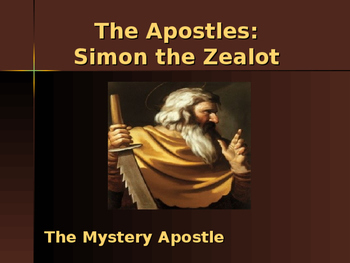 The Apostles - Simon the Zealot