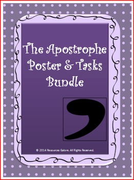 The Apostrophe Bundle: Poster & Tasks