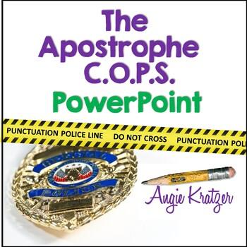 The Apostrophe C.O.P.S. PowerPoint