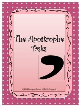 The Apostrophe Tasks