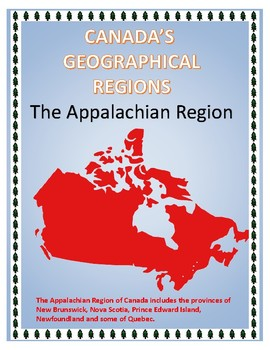 The Appalachian Region of Canada