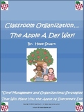 Classroom Organization...The Apple A Day Way!