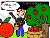 The Apple Farmer Clip Art Pack