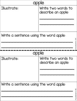 Language and Literacy Lesson: The Apple Pie Tree