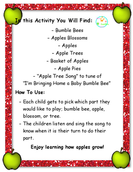 The Apple Song Activity