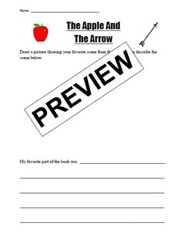 The Apple and the Arrow end of book activity