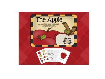 The Apple emergent reader bundle pack