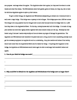 The Applelots & Wittlewheats Sorta War Short Story Organizer