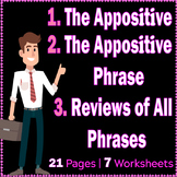 The Appositive | Appositive Phrase | Reviews on all kinds of Phrases | ELA