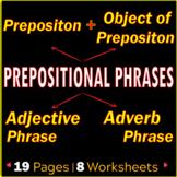 Prepositional Phrases | Adjective & Adverb Phrases | ELA W