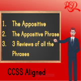 The Appositive and the Appositive Phrase and 3 Reviews BUN