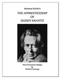 The Apprenticeship of Duddy Kravitz: Three Punctuation Passages