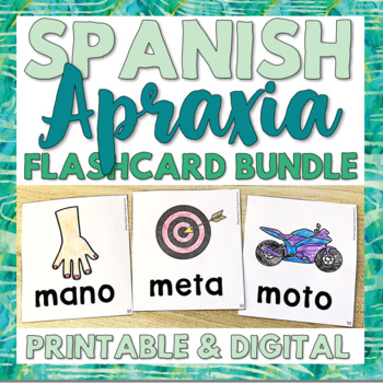 The Apraxia Bible in Spanish: Intensive Intervention for Early Readers
