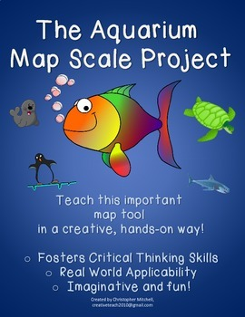 The Aquarium Map Scale Project: Geography: Map Skills: Sub