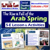 The Arab Spring - Complete 5-E Lesson with Activities, Not
