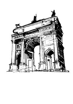 The Arc de Triomphe Word Search