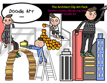 The Architect Clipart Pack