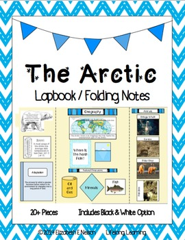 The Arctic: Lapbook / Interactive Notebook