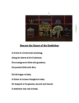 """""""Beware the Haunt of the Doohicker!"""" [A Poem]"""