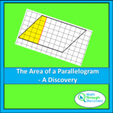 Geometry - The Area of a Parallelogram - A Discovery
