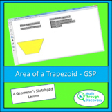 Geometry - Area of a Trapezoid - GSP