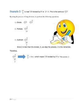 THE ARITHMETIC PROCESS OF LONG DIVISION