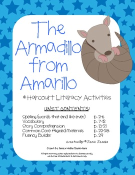 The Armadillo from Amarillo (Harcourt Supplemental Materials)