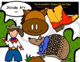 The Armadillo's Rodeo Clip Art Pack