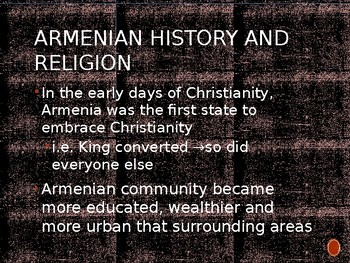 The Armenian Genocide PowerPoint
