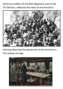 The Armistice 1918 Handout