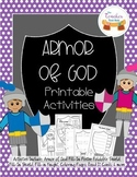 The Armor of God for Kids Printable Activities