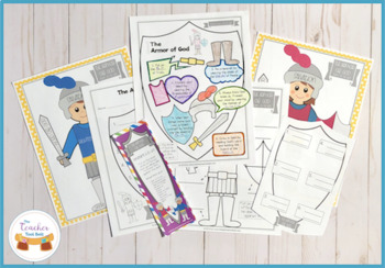 picture about Armor of God Printable Activities named The Armor of God for Youngsters Printable Pursuits