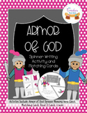 The Armor of God for Kids Spinner and Matching Cards