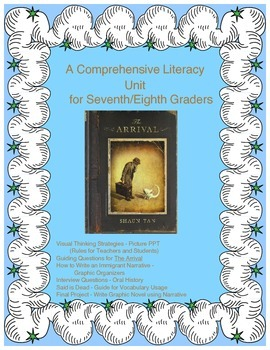 The Arrival - A Comprehensive Literacy Unit