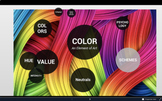 The Element of Art: Color - Prezi + Worksheet - Fundamentals of Art/ Art 1