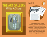 The Art Gallery: Write A Story (9-13 years)