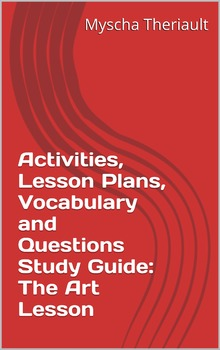 The Art Lesson Activities, Vocabulary and Worksheets Package