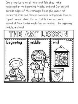 The Art Lesson Literature Lap Book