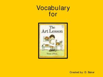 The Art Lesson Vocabulary Houghton Mifflin Series