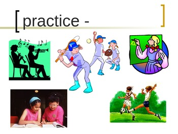 """""""The Art Lesson"""" Vocabulary PowerPoint"""