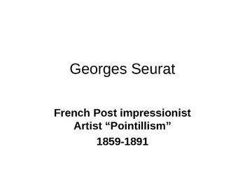 The Art Of George Seurat