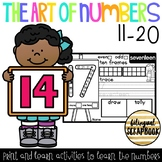 The Art Of Numbers {Number Practice Pages 11-20}
