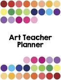 The Art Teacher Planner 2018-2019 Full Color Edition
