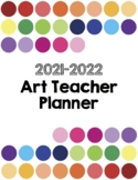 The Art Teacher Planner 2018-2019 Full Color Edition