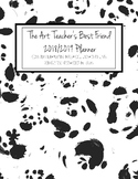 The Art Teacher's Best Friend 2018-2019 Planner (BLACK AND WHITE SPOTS)