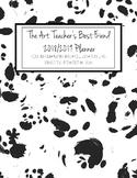The Art Teacher's Best Friend 2018-2019 Planner (BLACK AND WHITE SPOTS)