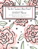 The Art Teacher's Best Friend 2018-2019 Planner (RED ROSE)