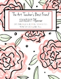 The Art Teacher's Best Friend 2018-2019 Planner (RED ROSE)