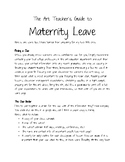 The Art Teacher's Guide to Maternity Leave