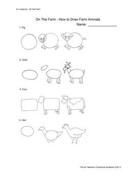 The Art Teacher's Substitute Notebook:  K-2 Lessons